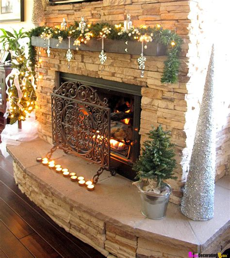 engaging image of mantel decoration ideas