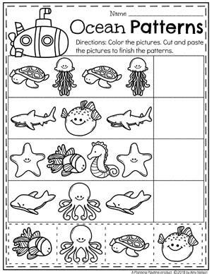 Ocean Theme  Planning Playtime