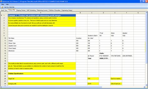 bytescout xls viewer allows to view print xls xlsx microsoft excel and ods open office