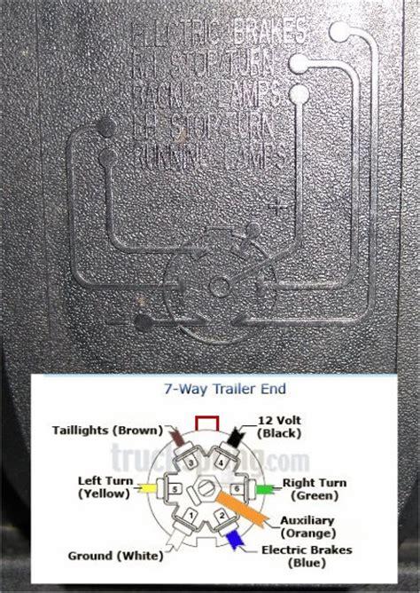 2015 Gmc Trailer Wiring Diagram by No Power At Trailer 7 Pin Connector 1999 2013 Silverado