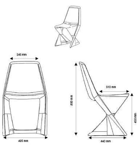 mesure d une chaise chaise iso design cedric ragot qui est paul dans chaise design tendance jardin