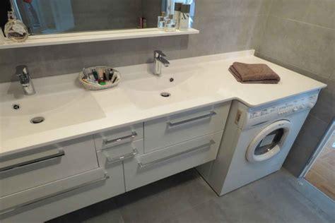 lave linge dans la cuisine integrer machine a laver dans salle de bain maison design bahbe com