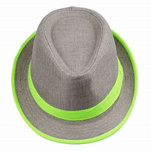 2017 Fashion Straw Panama Fedora Caps Solid Dress Hats