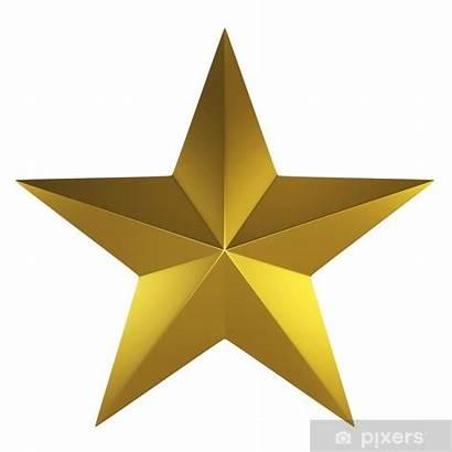 Ster Golden Gouden Sticker Fotobehang Parede Pixers