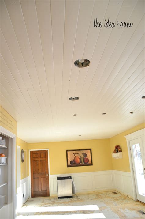 wood plank ceiling  woodworking