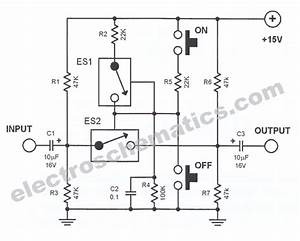 analog line switch circuit With wiring diagrams light relay wiring diagram baja designs wiring diagram