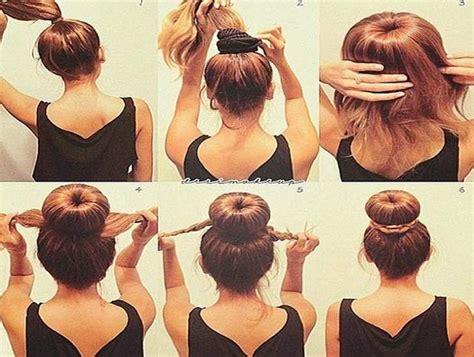 easy updos  medium length hair step  step hair
