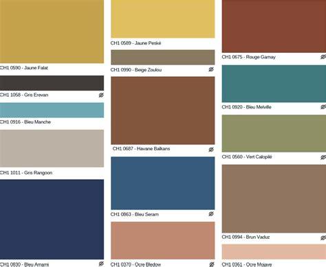 chambre d hotes orange nuancier peinture des professionnels chromatic