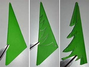 Papier Selber Machen : bastelanleitung tannenbaum aus papier falten my blog ~ Lizthompson.info Haus und Dekorationen