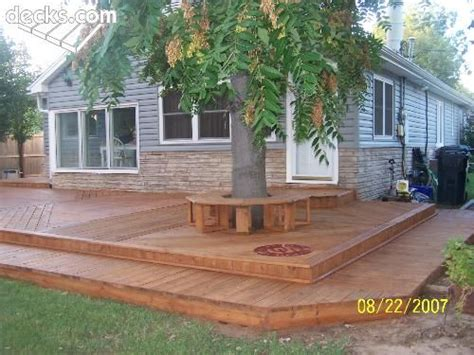 deck without railing simple and luv no railings for the home pinterest