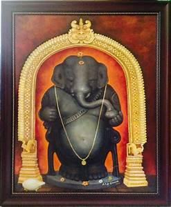 Idagunji Ganapati by artist B S B Goudar Religious Art