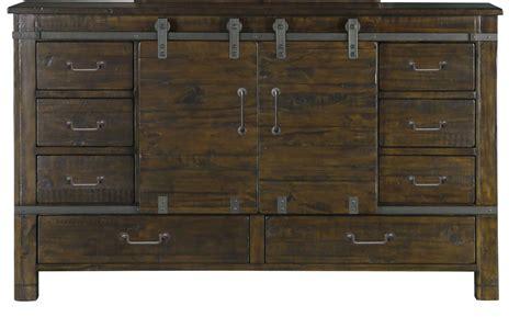 pine wood dresser pine hill rustic pine wood sliding door dresser from