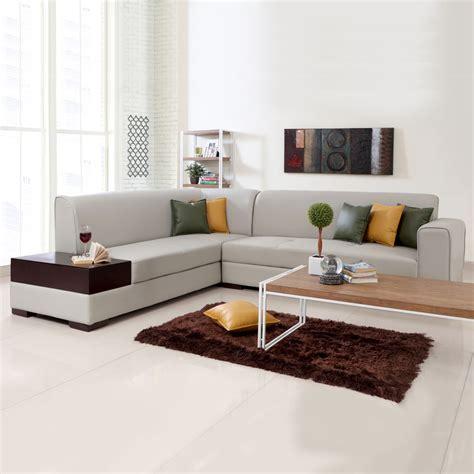 table dining l shaped sofas alden leatherette l shape sofa left
