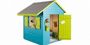 Cabane Enfant Plastique : cabane enfant choisir le naturel du bois ou la modernit du plastique ~ Preciouscoupons.com Idées de Décoration