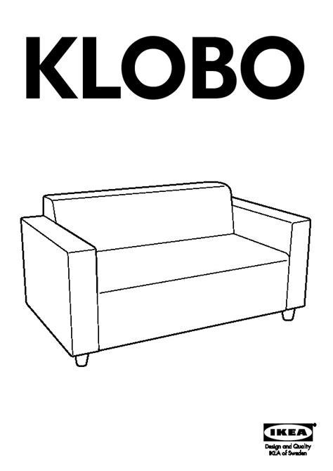 klobo canapé 2 places lussebo écru ikea ikeapedia
