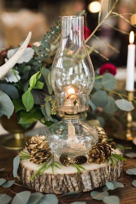 ideas  camo wedding centerpieces