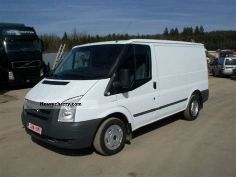 Ford Transit 85t260 2009 Box-type Delivery Van Photo And Specs
