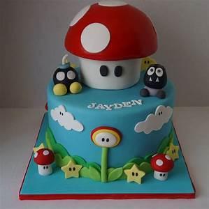 Super Mario Kuchen : 20 besten super mario bros cakes bilder auf pinterest mario bros kuchen super mario bros und ~ Frokenaadalensverden.com Haus und Dekorationen