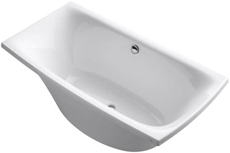 Kohler Freestanding Bathtub Faucet by Kohler K 14037 0 White 72 Quot X 36 Quot Freestanding Soaking Tub