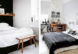 Deco Chambre Bois : deco chambre bois et blanc ~ Melissatoandfro.com Idées de Décoration