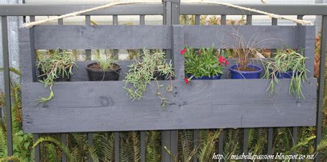 hometalk upcycled pallet hanging planter box
