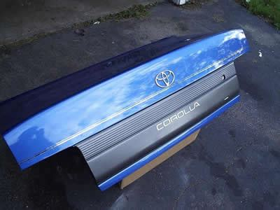 deck lid  decklid rear