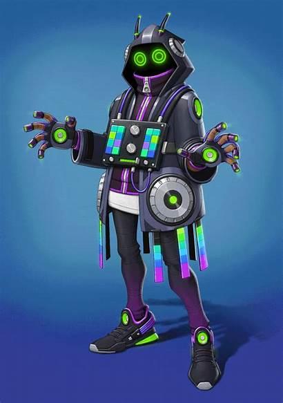 Dj Mage Behance Cyberpunk Concept Character Sci