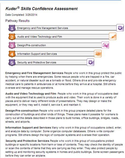 Kuder Resume by Kuder Assessments Logan Flippen