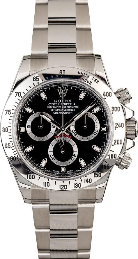 Men's Rolex Daytona 116520 Serial Engraved