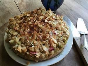 Rezept Rhabarber Crumble : rhabarber crumble kuchen rezept mit bild von fanskitopf ~ Lizthompson.info Haus und Dekorationen