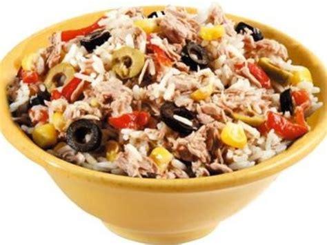 recette cuisine nicoise salade de riz niçoise recette cuisine et