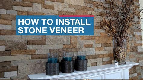 install stone veneer youtube