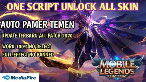 script skin mobile lagends  patch unlock  effect