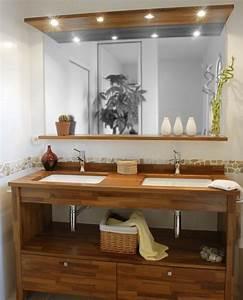 Idee deco salle de bain avec idee deco cuisine noire et for Deco cuisine pour meuble salle de bain