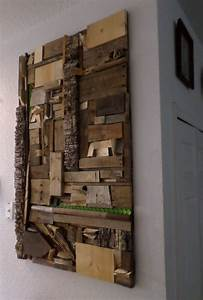 Using Recycled Scrap Materials for Wood Wall Art