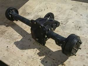 Rear End Differential Assembly Chinese Golf Cart Axle 19