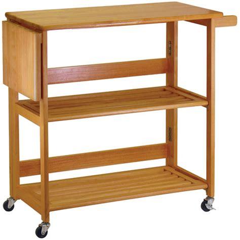 folding kitchen island cart folding kitchen cart light oak in kitchen island carts