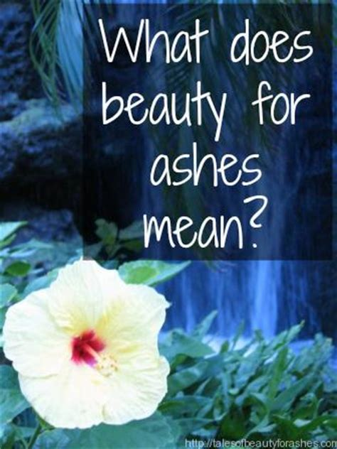 beauty  ashes tales  beauty