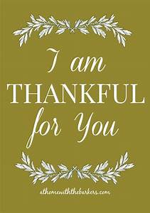 Thankful for You - At Home with The Barkers