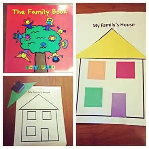 preschool family lesson plan activity families preschool family activities and