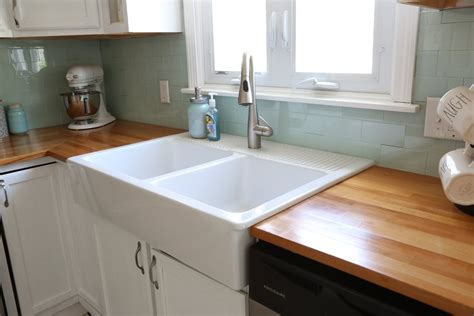 peel and stick kitchen backsplash tiles installing an ikea farmhouse sink weekend craft