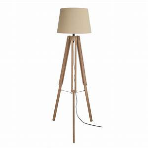 white washed wooden tripod floor lamp With kitty tripod white wood floor lamp