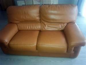 renovation de mes canapes en cuir marron sofolk With renovation cuir canapé