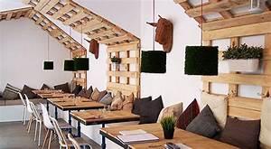Wandgestaltung Büro Ideen : wandgestaltung ideen mit paletten freshouse ~ Lizthompson.info Haus und Dekorationen