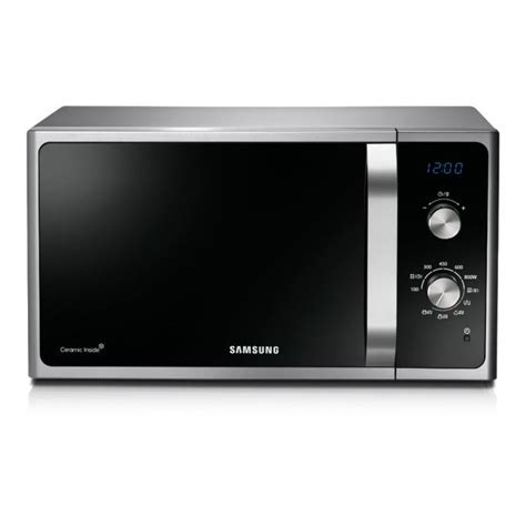 plateau micro onde samsung samsung mg23f301efs micro ondes grill achat vente micro ondes cdiscount