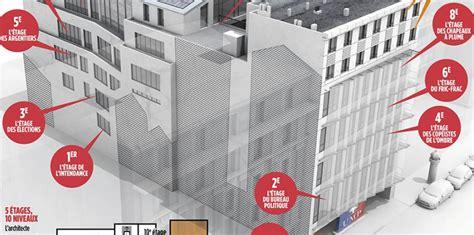 siege ump adresse infographie l 39 étage sarkozy l 39 étage copé visite