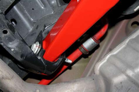 camaro rear  control arms poly bushings