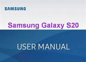 Samsung Galaxy S20 User Manual    Guide Pdf Free Download