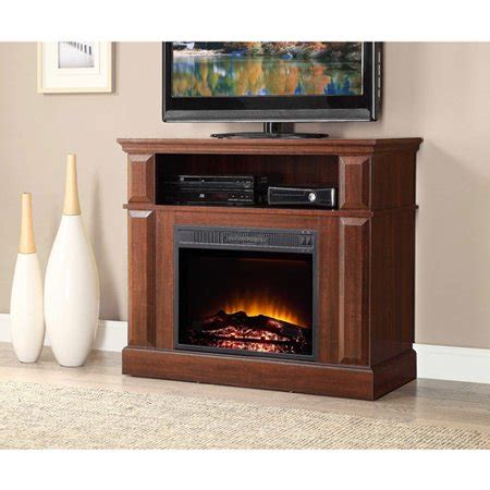 whalen fireplace tv stand whalen media fireplace console for tvs up to 45 quot warm