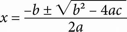 Formula Clipart Quadratic Equation Cliparts Clip Algebra